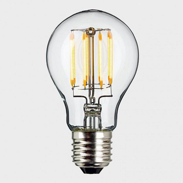 led filament leuchtmittel 8 w 55 w dimmbar. Black Bedroom Furniture Sets. Home Design Ideas