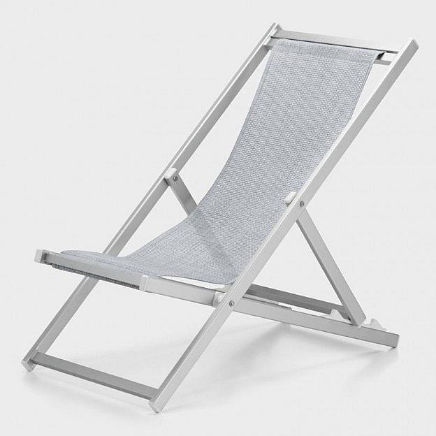 Deckchair Aluminium eloxiert