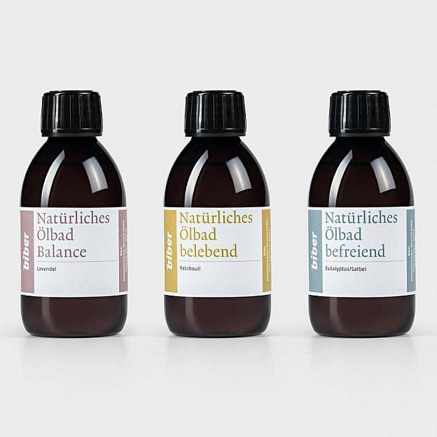 Natürliche Ölbäder, 3er-Set