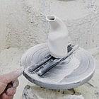 Salzpfeife Porzellan