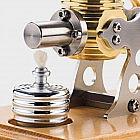 Stirlingmotor Fertigmodell