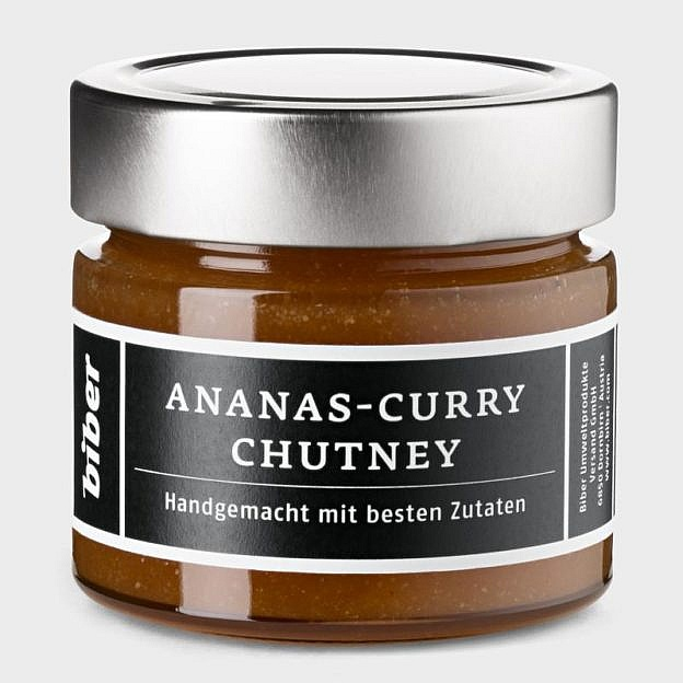 Ananas-Curry-Chutney