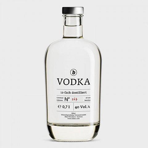 b-Vodka, limitierte Auflage