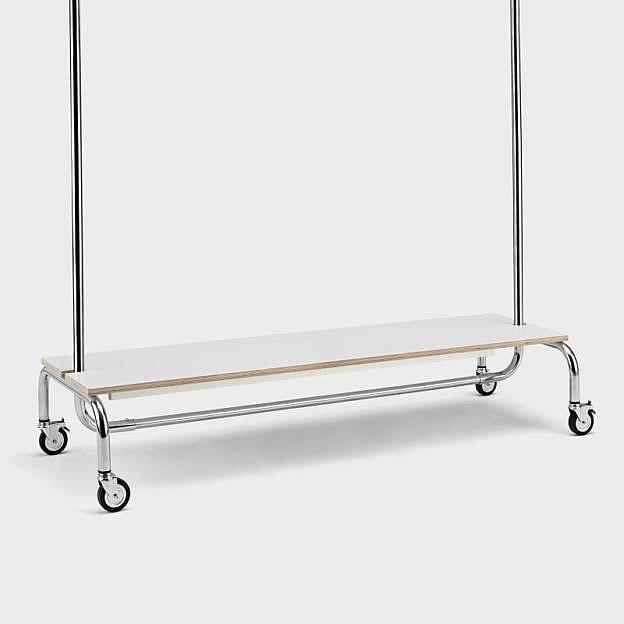 Ablagebrett für Kleiderständer 150 cm