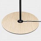 LED-Tischleuchte Eiche