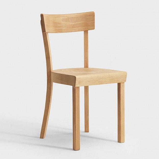 Original Frankfurter Stuhl, geölt