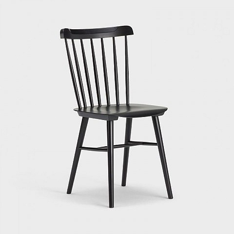 ton stuhl nr 35 schwarz. Black Bedroom Furniture Sets. Home Design Ideas