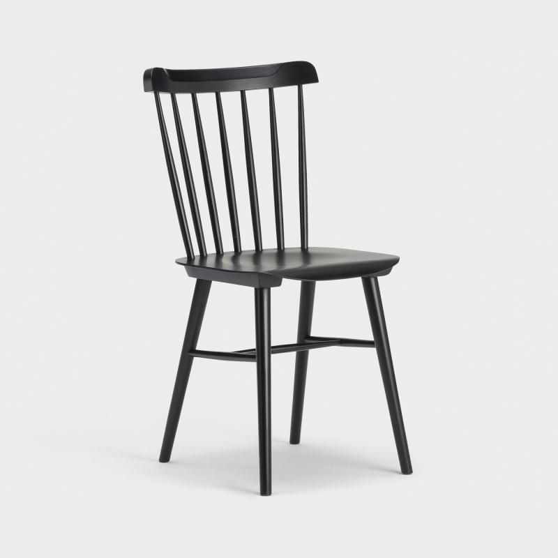 Stuhl Klassiker ton stuhl nr 35 schwarz biber ch