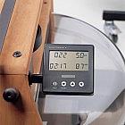 Ruderergometer Kirschholz geölt mit Leistungsmonitor
