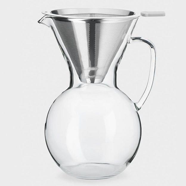 Kaffeebereiter Pour Over mit Edelstahlfilter