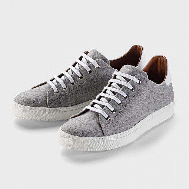 Sneaker Unisex Loden/Kalbsleder