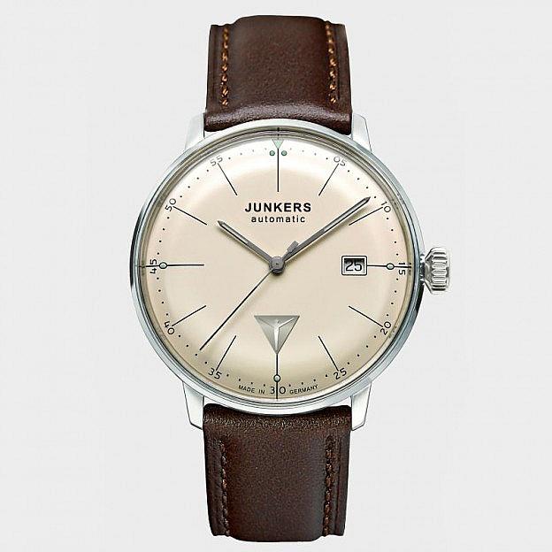 Armbanduhr Junkers Bauhaus Strichblatt