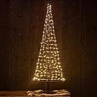 CH LED-Lichterkettenbaum 100 cm, Stahl