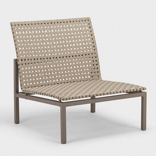 Lounge-Mittelelement Palma, Gurtbespannung