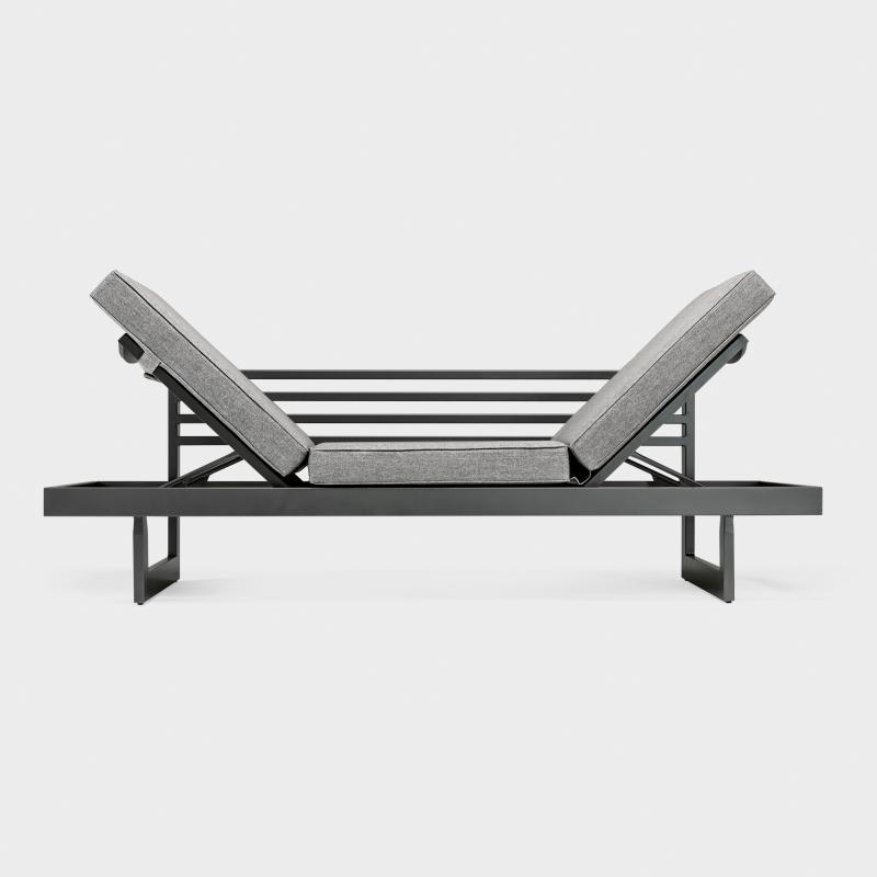 Liegemöbel lounge liegemöbel aluminium anthrazit biber ch